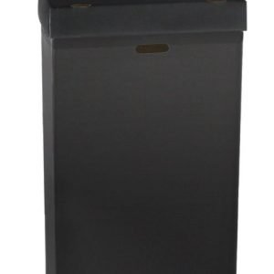 Black Disposable Trash Containers